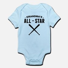 Grandmas All-Star Baseball Body Suit