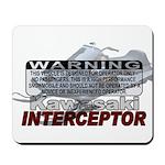 Interceptor Warning II Mousepad