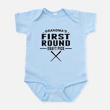 Grandmas First Round Draft Pick Body Suit
