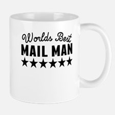 Worlds Best Mail Man Mugs