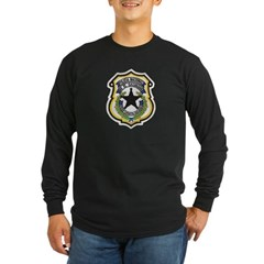 El Salvador Police Long Sleeve Dark T-Shirt