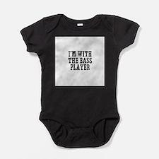 Cute Guitar player Baby Bodysuit