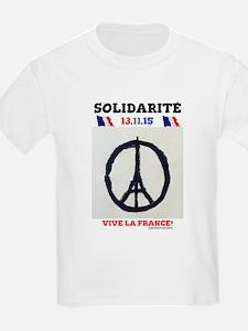 SOLIDARITE - PARIS 13.11.15 0 - TERROR ATT T-Shirt