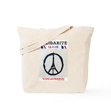 SOLIDARITE - PARIS 13.11.15 0 - TERROR AT Tote Bag