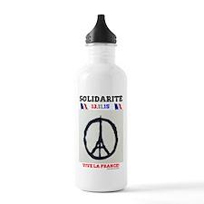 SOLIDARITE - PARIS 13. Water Bottle