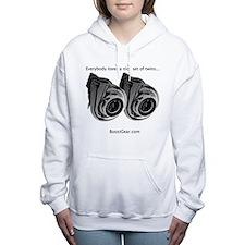 Unique Turbo Women's Hooded Sweatshirt