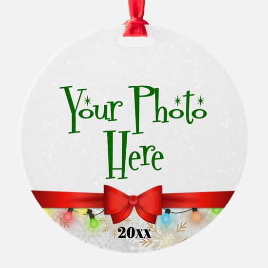 Christmas Custom Photo Ornament