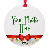 Holiday Round Ornament