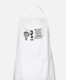Substantial amount of coffee Apron
