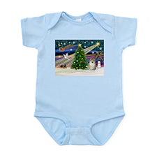 Xmas Magic & Pom #1 Infant Bodysuit