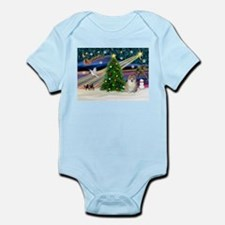 Xmas Magic & Pom #1 Infant Bodysuit