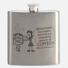 Substantial amount of coffee Flask