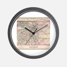 Unique Colorado Wall Clock