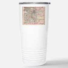 Cute I love colorado Travel Mug