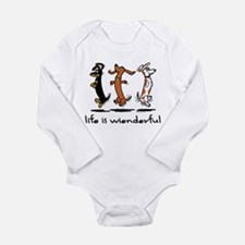 Cool Wiener Long Sleeve Infant Bodysuit
