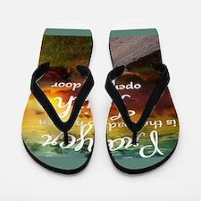 prayer Flip Flops