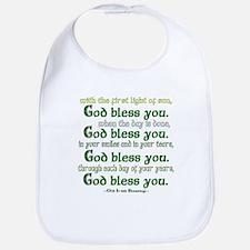 Irish Blessing--God Bless You Bib