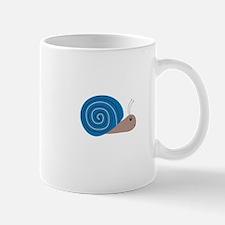 Cute blue Snail Mugs