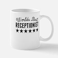 Worlds Best Receptionist Mugs
