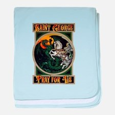 Saint George baby blanket