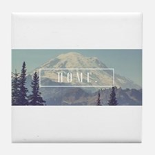 Mt. Rainier Tile Coaster