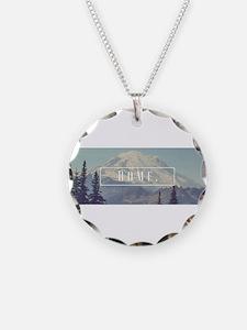 Mt. Rainier Necklace