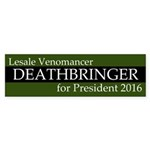 Lesale Venomancer Deathbringer Bumper Sticker