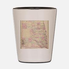Unique Vintage north dakota Shot Glass
