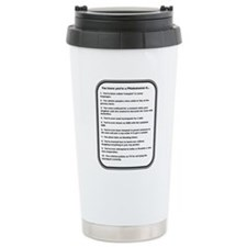 Funny Medical laboratory tech Travel Mug