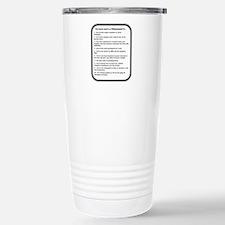 Funny Lab tech Travel Mug