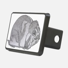 Mini Lop By Karla Hetzler Hitch Cover