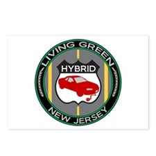 Living Green Hybrid New Jersey Postcards (Package