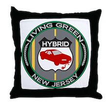 Living Green Hybrid New Jersey Throw Pillow