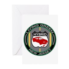 Living Green Hybrid New Jersey Greeting Cards (Pk