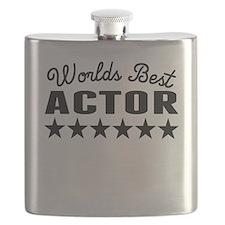 Worlds Best Actor Flask