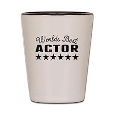 Worlds Best Actor Shot Glass