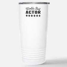 Worlds Best Actor Travel Mug