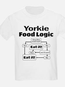 Yorkie Food T-Shirt