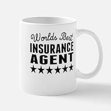 Worlds Best Insurance Agent Mugs
