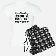 Worlds Best Executive Assistant Pajamas