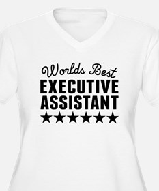 Worlds Best Executive Assistant Plus Size T-Shirt