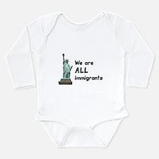 Democrat Long Sleeve Infant Bodysuit