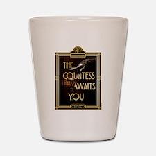 AHS Hotel The Countess Awaits Shot Glass