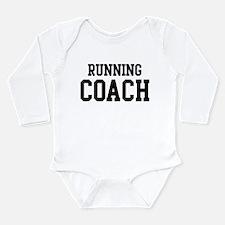 Cute Running coach Long Sleeve Infant Bodysuit