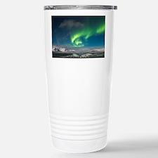 Cute Iceland northern lights Travel Mug