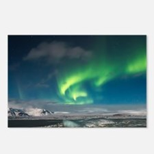 Unique Northern lights Postcards (Package of 8)