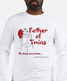 Dad twins Long Sleeve T-Shirt