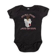Unique Chinese food Baby Bodysuit