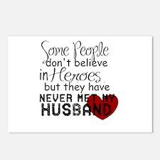 Husband hero Postcards (Package of 8)