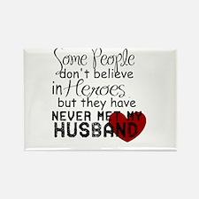 Husband hero Magnets